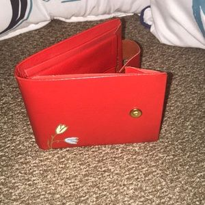 Handbags - Super cute vintage red wallet